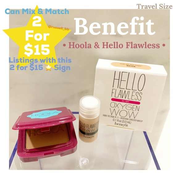 Sephora Other - Benefit • Hoola Bronzing Powder & Hello Flawless •